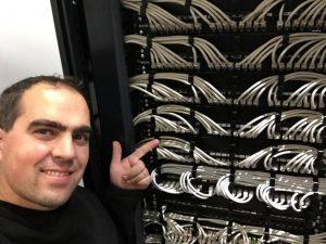 Instalación cables de datos